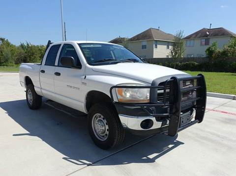2006 Dodge Ram Pickup 2500 for sale at Universal Credit in Houston TX