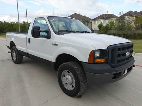 2007 Ford F-250 Super Duty for sale at Universal Credit in Houston TX