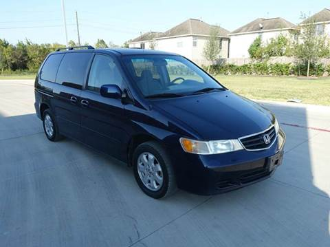 2003 Honda Odyssey for sale at Universal Credit in Houston TX