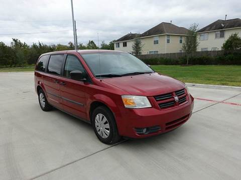 2008 Dodge Grand Caravan for sale at Universal Credit in Houston TX