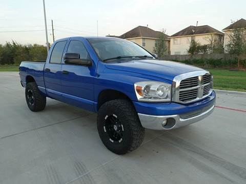 2007 Dodge Ram Pickup 1500 for sale at Universal Credit in Houston TX