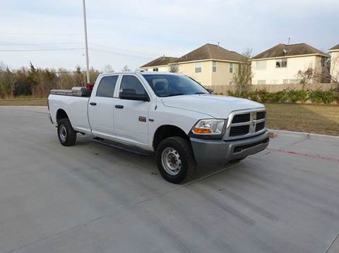 2010 Dodge Ram Pickup 2500 for sale at Universal Credit in Houston TX