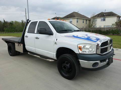 2008 Dodge Ram Chassis 3500 for sale at Universal Credit in Houston TX