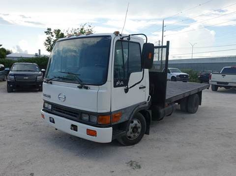 2004 Hino FA1517 for sale at Universal Credit in Houston TX