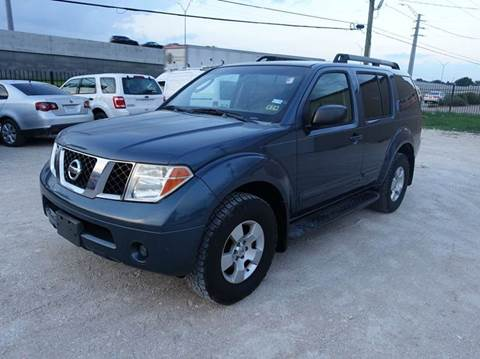 2007 Nissan Pathfinder for sale at Universal Credit in Houston TX