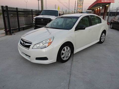 2010 Subaru Legacy for sale at Universal Credit in Houston TX