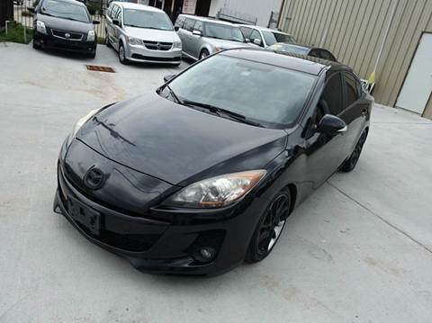 2012 Mazda MAZDA3 for sale at Universal Credit in Houston TX