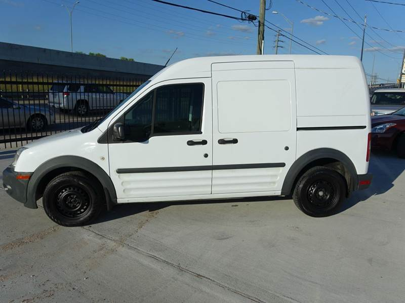 2010 Ford Transit Connect Cargo Van Xl 4dr Mini W O Side And Rear