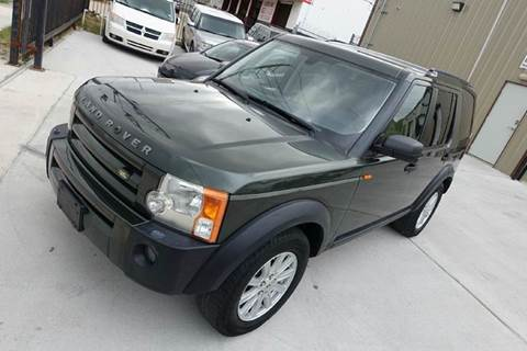 2007 Land Rover LR3 for sale at Universal Credit in Houston TX