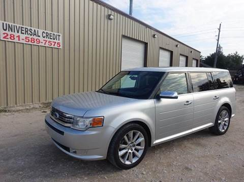 2010 Ford Flex for sale at Universal Credit in Houston TX