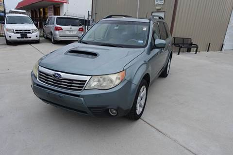 2009 Subaru Forester for sale at Universal Credit in Houston TX