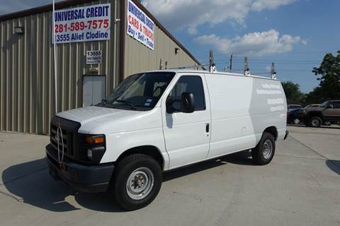 2012 Ford E-Series Cargo for sale at Universal Credit in Houston TX