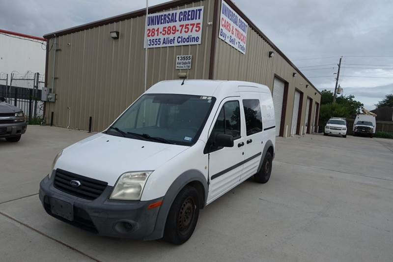 2010 Ford Transit Connect Xl 4dr Cargo Mini Van W Side And Rear