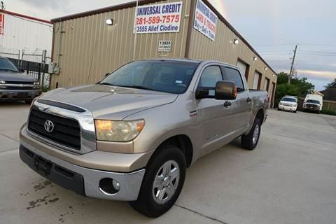 2007 Toyota Tundra for sale at Universal Credit in Houston TX