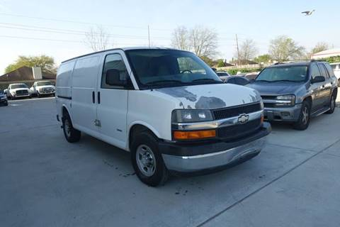 2007 Chevrolet Express Cargo for sale at Universal Credit in Houston TX