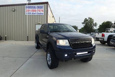 2006 Ford F-150 for sale at Universal Credit in Houston TX