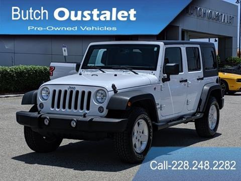 2016 Jeep Wrangler Unlimited for sale in Gulfport, MS
