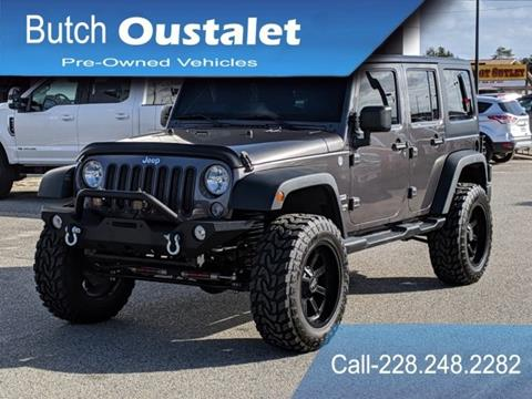 2014 Jeep Wrangler Unlimited for sale in Gulfport, MS