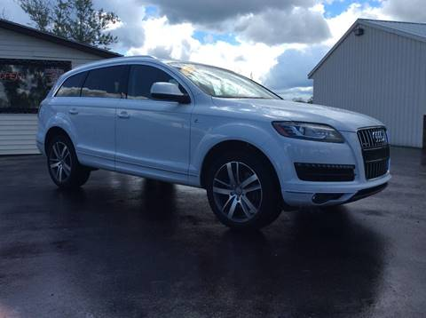 2015 Audi Q7 for sale in Central Square NY