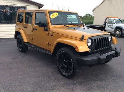 2014 Jeep Wrangler Unlimited for sale in Central Square, NY