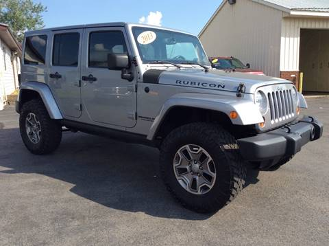 2013 Jeep Wrangler Unlimited for sale in Central Square NY