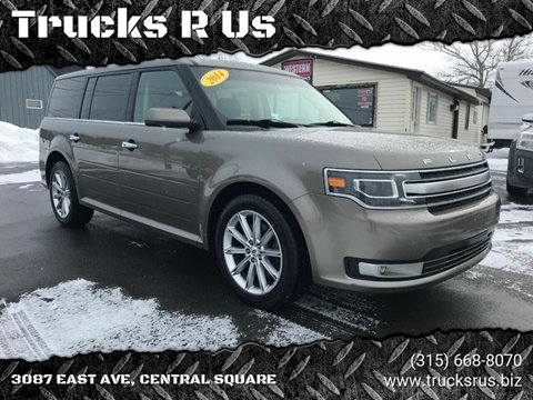 2014 Ford Flex for sale at Trucks R Us in Central Square NY