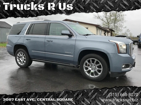 2016 GMC Yukon for sale in Central Square, NY