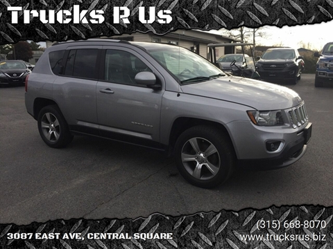 2016 Jeep Compass for sale at Trucks R Us in Central Square NY