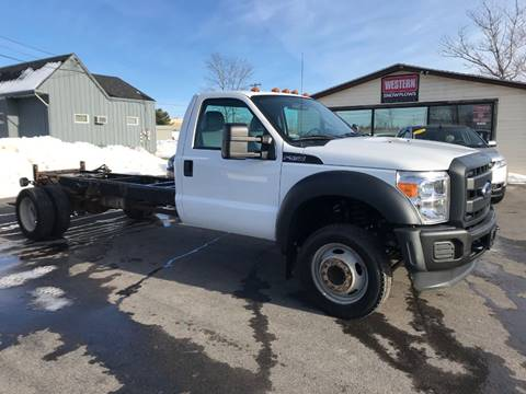 2015 Ford F-550 Super Duty for sale at Trucks R Us in Central Square NY