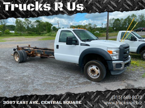 2014 Ford F-550 Super Duty for sale at Trucks R Us in Central Square NY