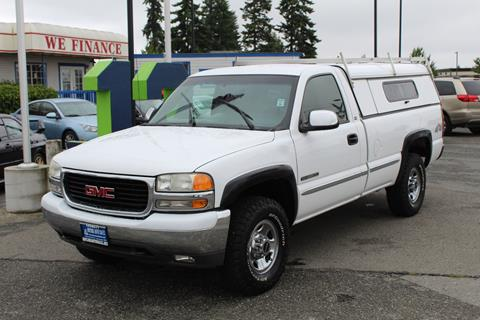 2000 GMC Sierra 2500 for sale in Everett, WA