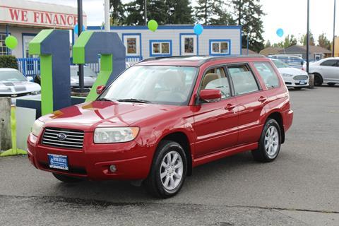 2007 Subaru Forester for sale in Everett, WA