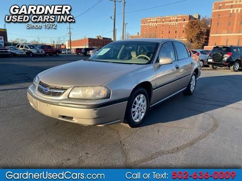 2003 Chevrolet Impala for sale in Louisville, KY