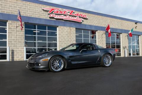 2010 Chevrolet Corvette ZR1 for sale at Fast Lane Classic Cars in St. Charles MO