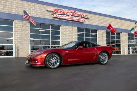 2011 Chevrolet Corvette ZR1 for sale at Fast Lane Classic Cars in St. Charles MO