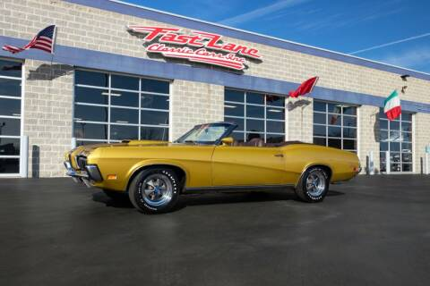 1970 Mercury Cougar for sale at Fast Lane Classic Cars in St. Charles MO