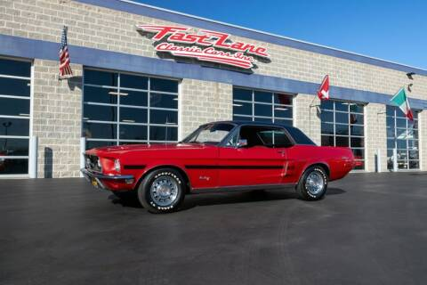 1968 Ford Mustang for sale at Fast Lane Classic Cars in St. Charles MO