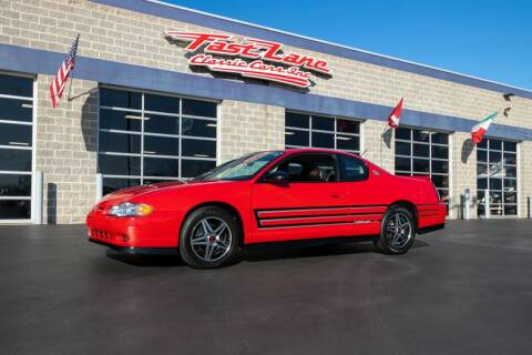 2004 Chevrolet Monte Carlo SS Supercharged for sale at Fast Lane Classic Cars in St. Charles MO