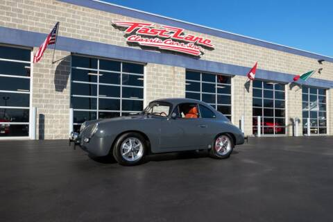 1961 Porsche 356 for sale at Fast Lane Classic Cars in St. Charles MO