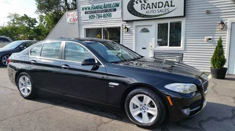 2012 BMW 5 Series for sale at Randal Auto Sales in Eastampton NJ