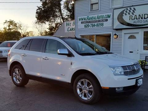 2010 Lincoln MKX for sale at Randal Auto Sales in Eastampton NJ