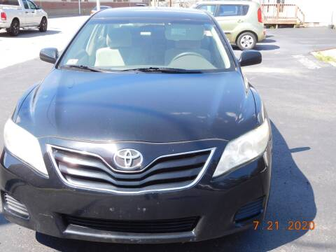 2010 Toyota Camry for sale at Southbridge Street Auto Sales in Worcester MA