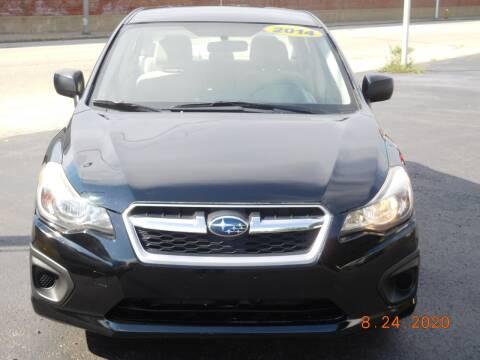 2014 Subaru Impreza for sale at Southbridge Street Auto Sales in Worcester MA