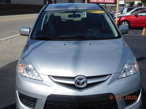 2009 Mazda MAZDA5 for sale at Southbridge Street Auto Sales in Worcester MA