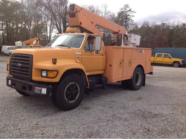 1995 Ford F-800 36ft Bucket Truck for sale at James River Motorsports Inc. in Chester VA