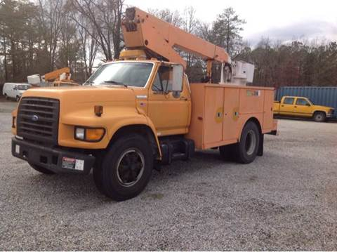 1995 Ford F-800 36ft Bucket Truck for sale in Chester, VA