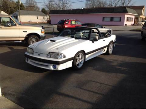 1992 Ford Mustang For Sale In Ashland Ky Carsforsale