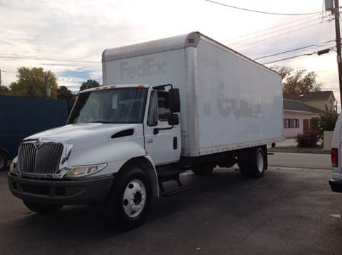2008 International Ihc 4200 24Ft Box Truck Diesel for sale at James River Motorsports Inc. in Chester VA