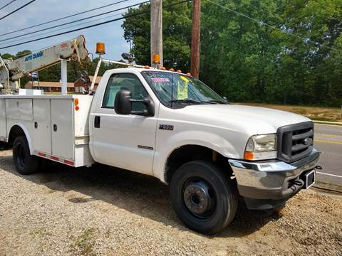 2002 Ford F-550 Crane Truck Diesel for sale in Chester, VA