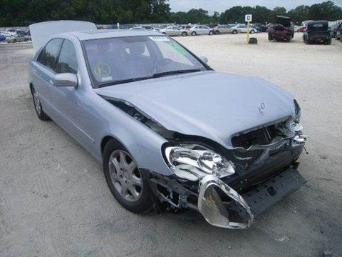 2001 Mercedes-Benz S-Class for sale at AUTO & GENERAL INC in Fort Lauderdale FL